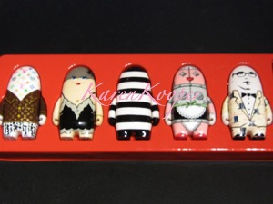 Visionaire No. 44 KidRobot Fashion Designer Toys Red Set $1200