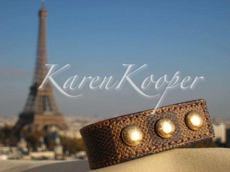 Louis Vuitton Damier Bracelet Champs Elysees 1998 Opening